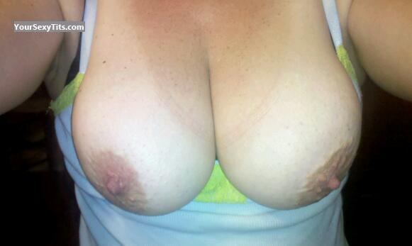 Tit Flash: My Very Big Tits (Selfie) - Sensei from United States