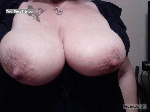 Tit Flash: My Very Big Tits (Selfie) - SweetSue from United States