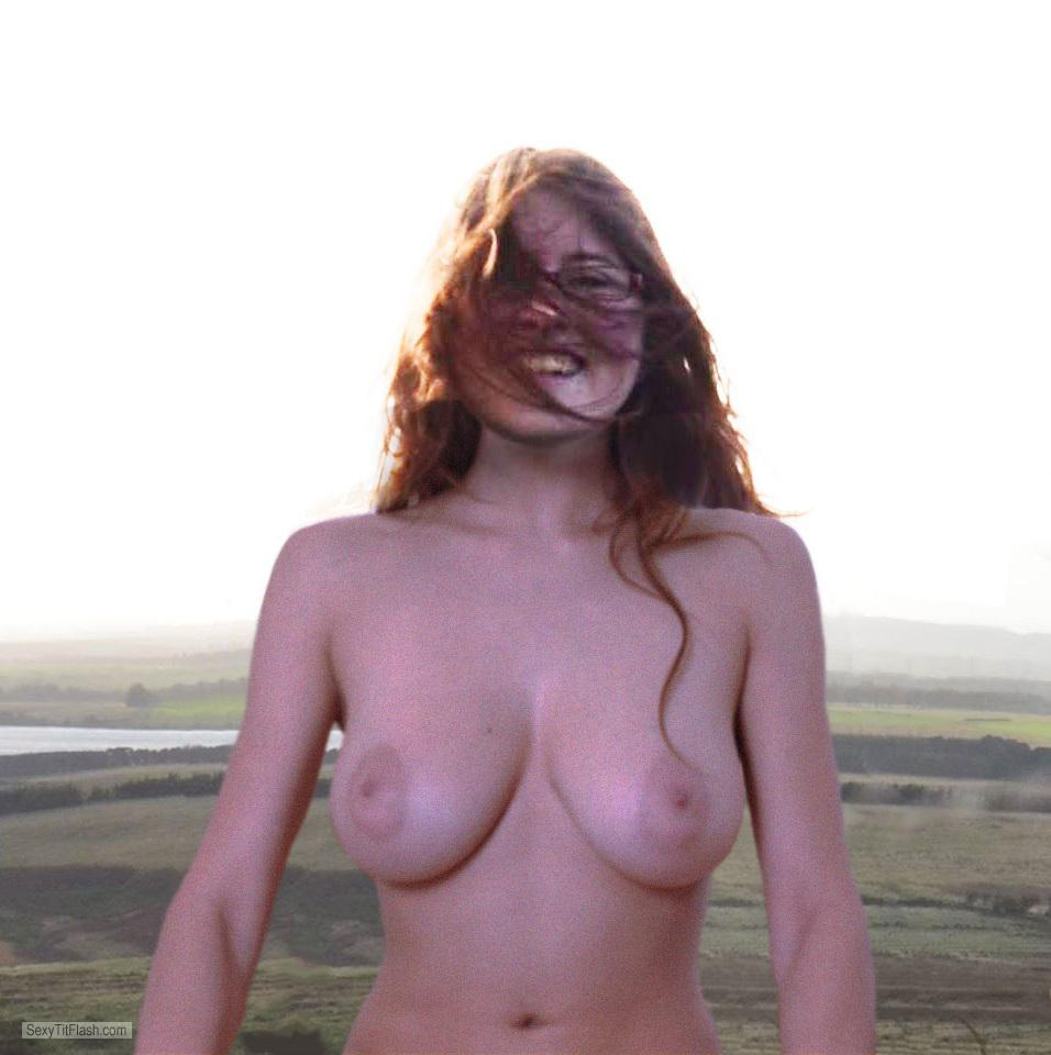 Very big Tits Of My Girlfriend Topless Anika