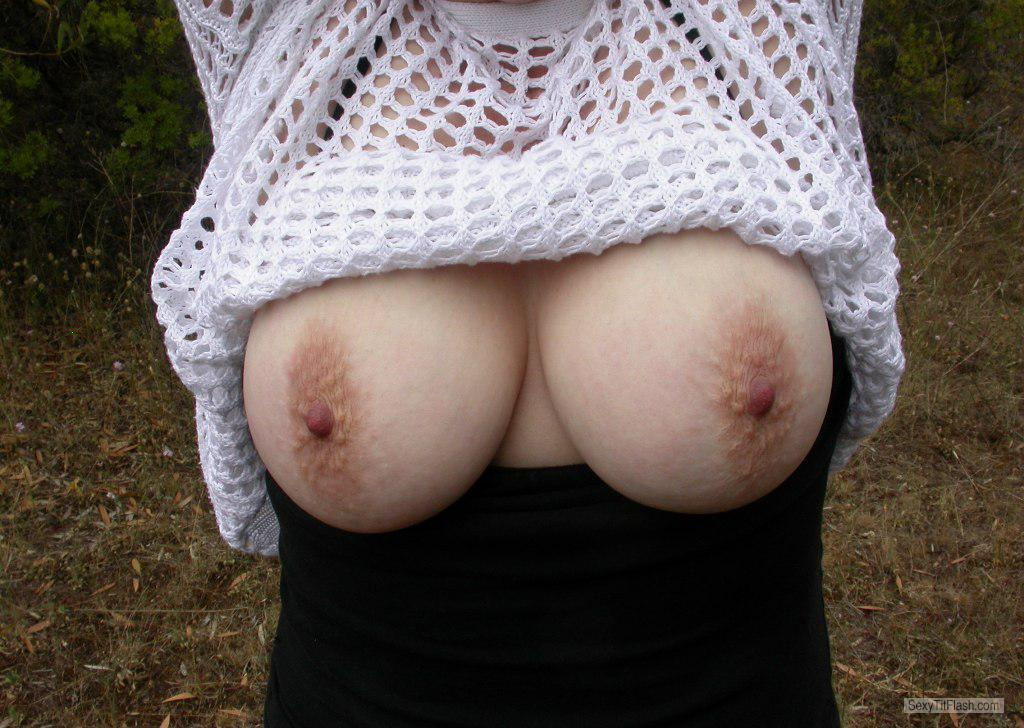 Tit Flash: My Big Tits - Curvy-lick-ious from Australia