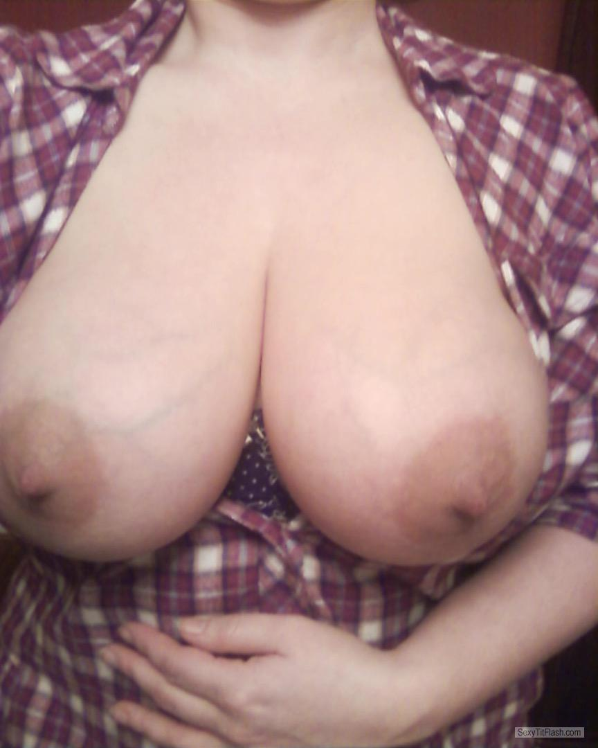 My Very big Tits Selfie by 40 Year Old Tits