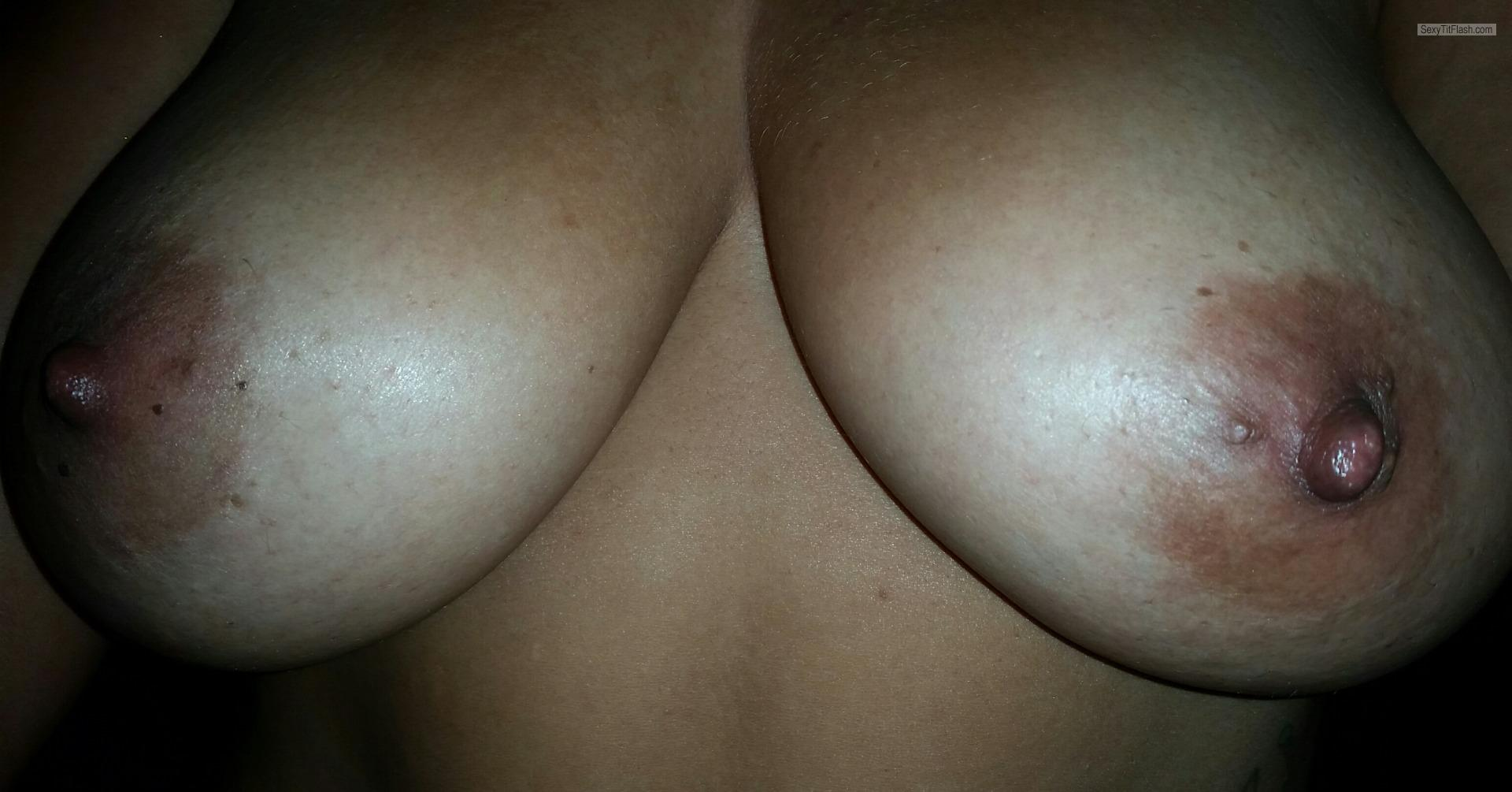 Tit Flash: My Big Tits - Mark from United States