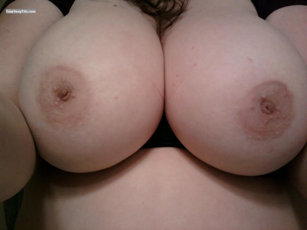 Tit Flash: My Very Big Tits (Selfie) - Love My Boobies from United States