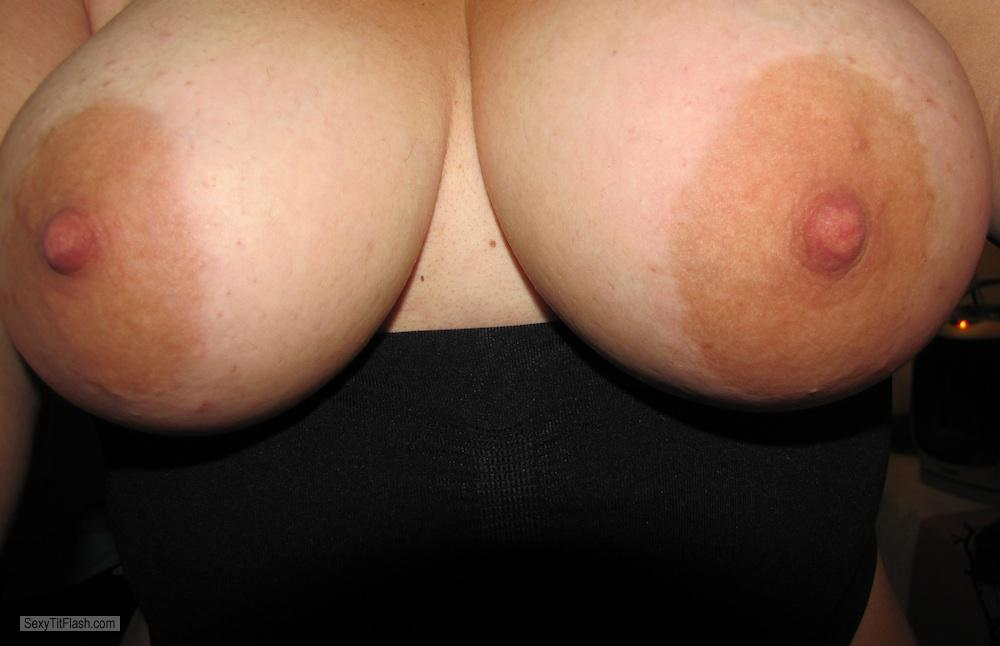 My Very big Tits Selfie by Big Boobs With Pink Nipples