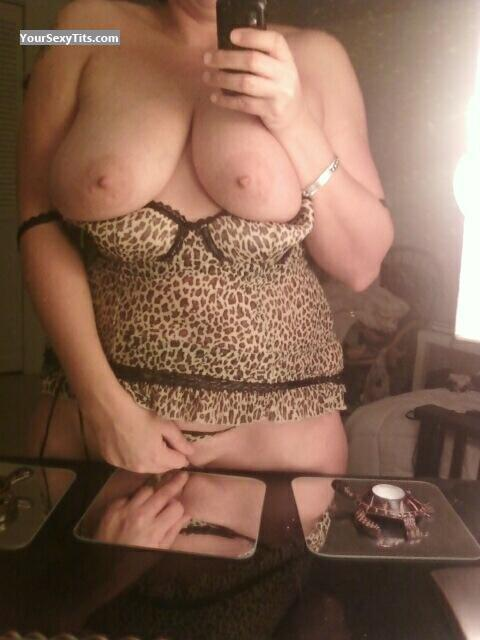 My Very big Tits Selfie by Leopard