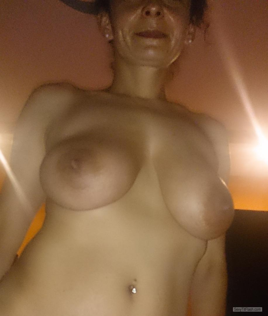 Tit Flash: My Medium Tits - Andzia from Poland
