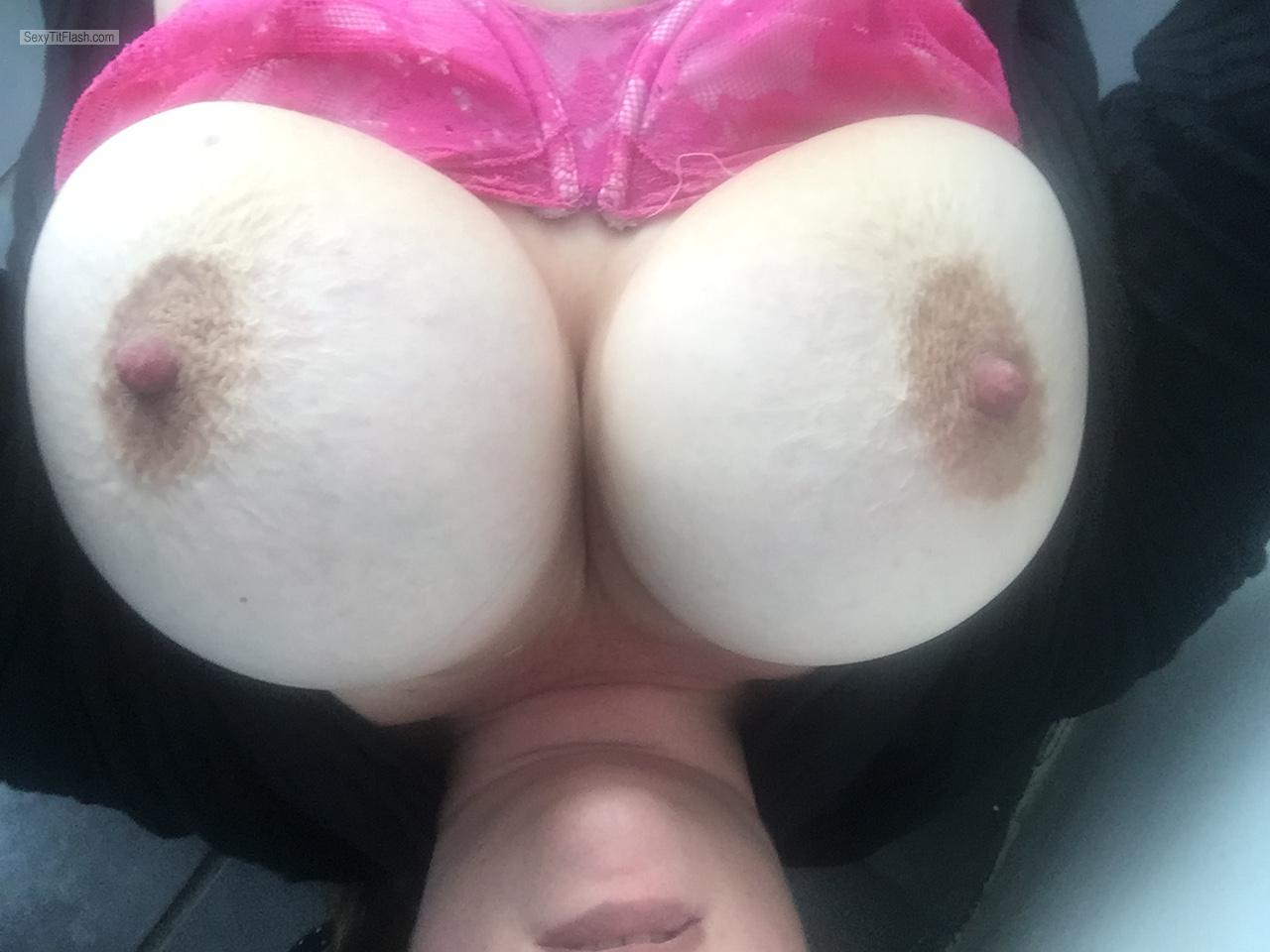 Tit Flash: My Very Big Tits (Selfie) - Milftits from South Africa