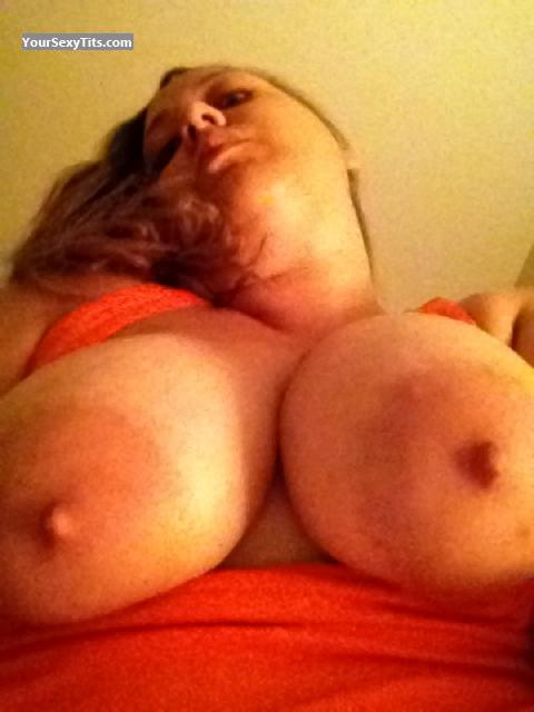 My Very big Tits Topless Selfie by Beba