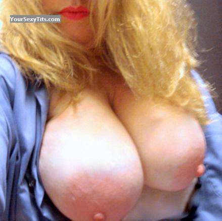 Tit Flash: My Very Big Tits (Selfie) - Boobs Out! from United States