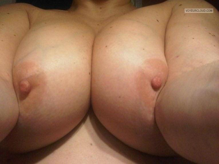 Very big Tits Of My Wife Selfie by THE WIFE