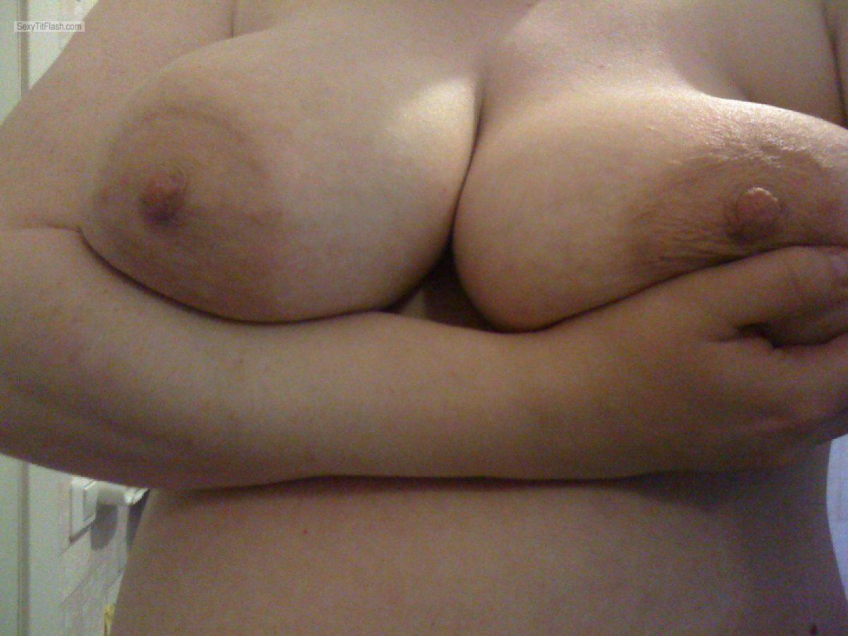 Tit Flash: My Very Big Tits - Me from United States