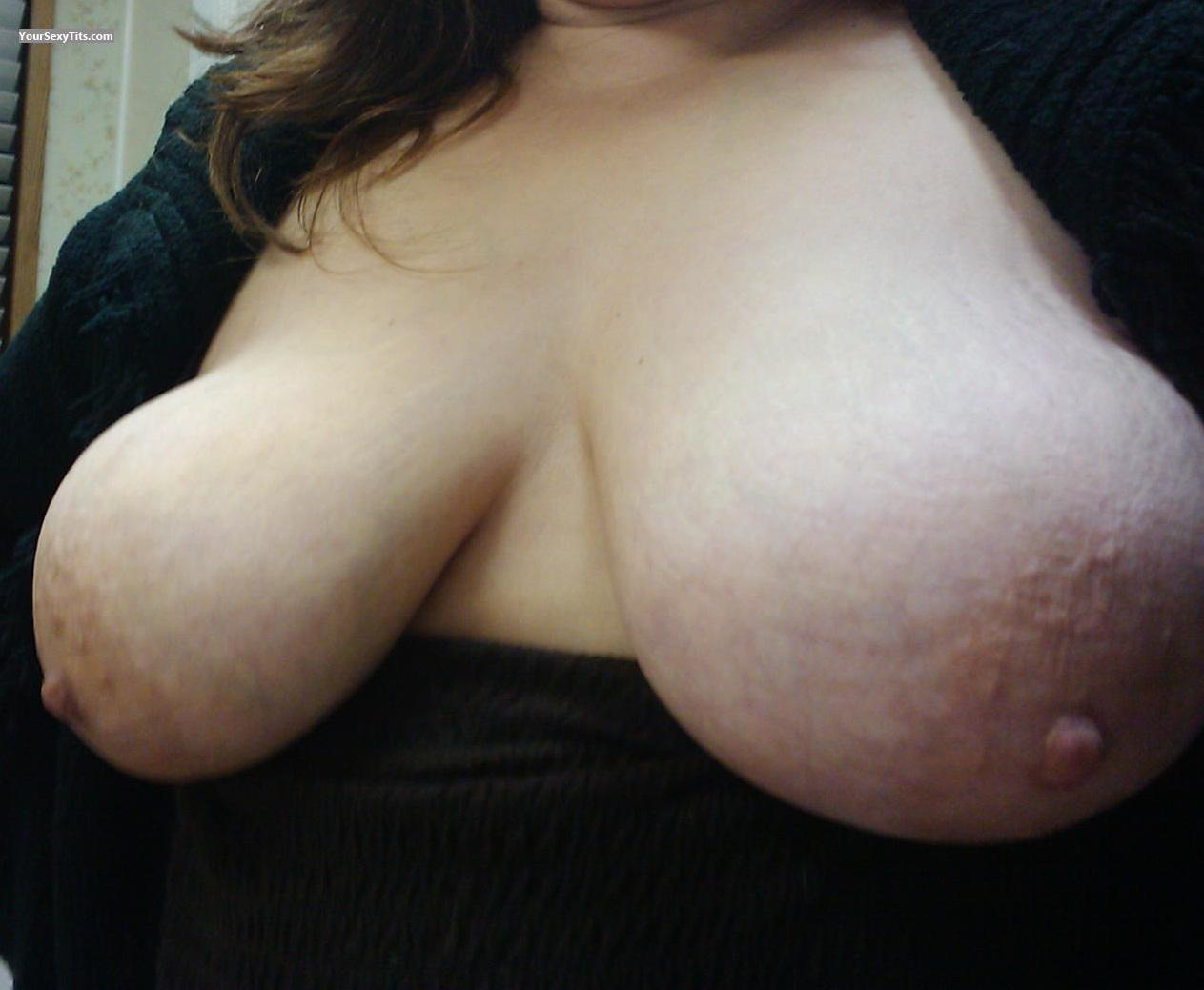 Tit Flash: My Very Big Tits (Selfie) - Catzass from United States