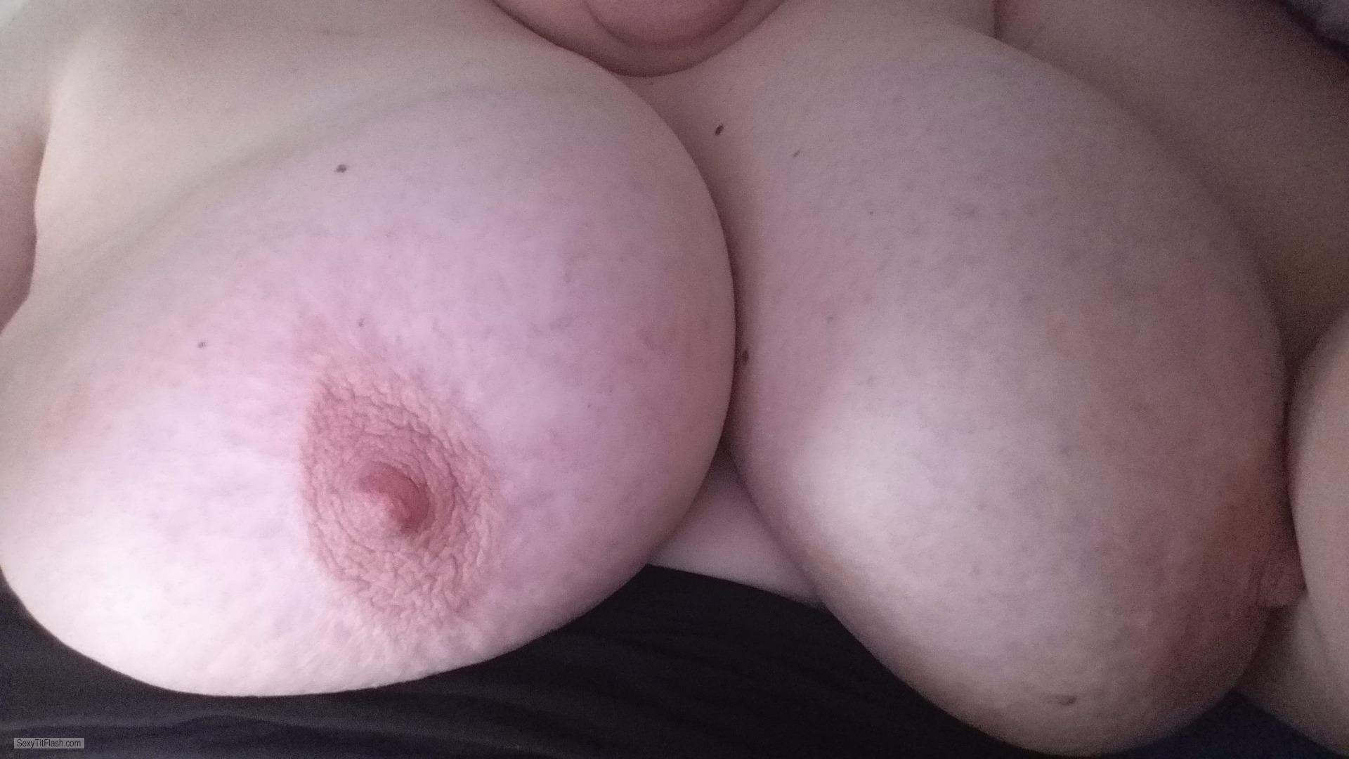 My Very big Tits Selfie by Bigallover