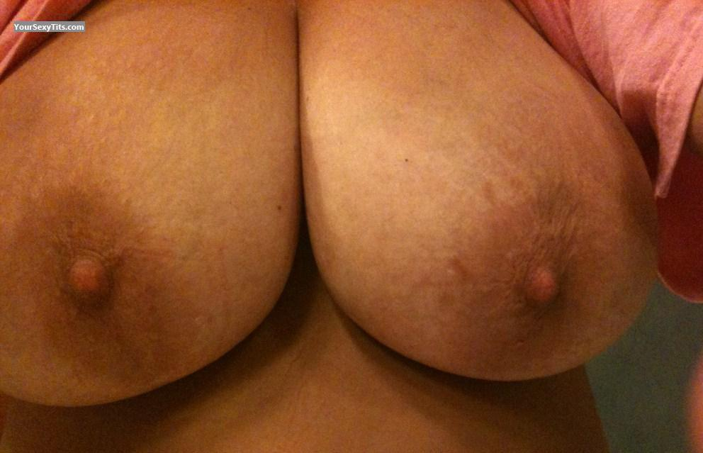 Very big Tits Of My Wife Selfie by Natural Wifey II