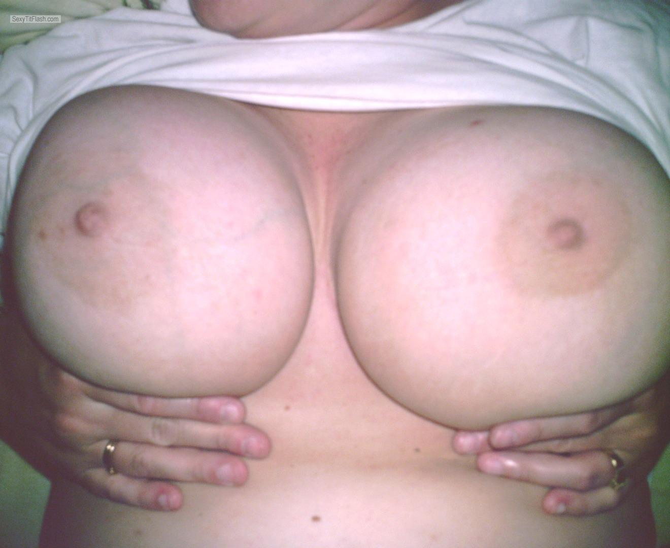 Very big Tits Of My Ex-Wife JB'S BIG BOOBs
