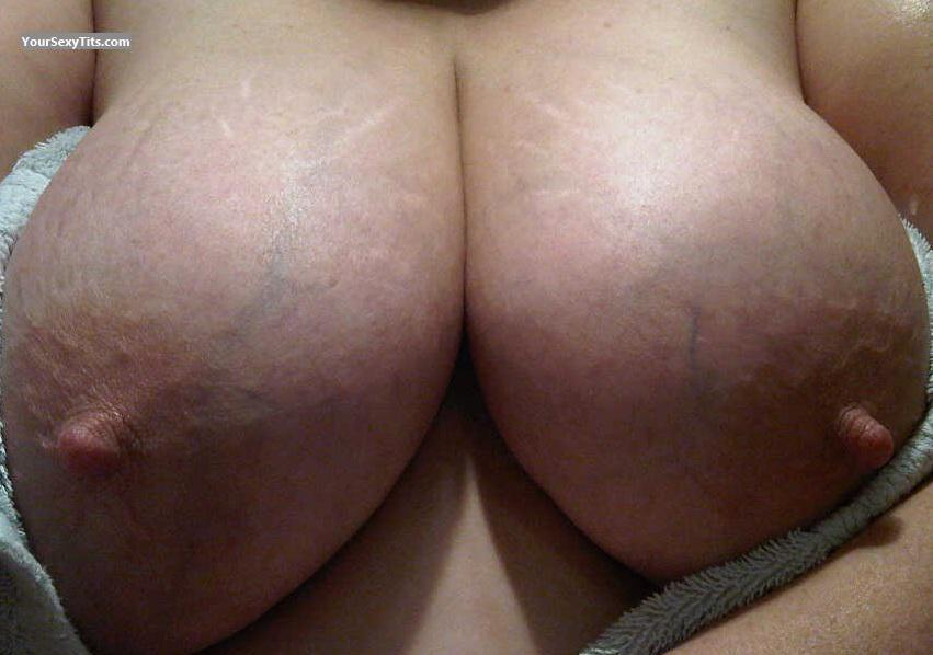 Tit Flash: My Very Big Tits (Selfie) - Suus from Netherlands