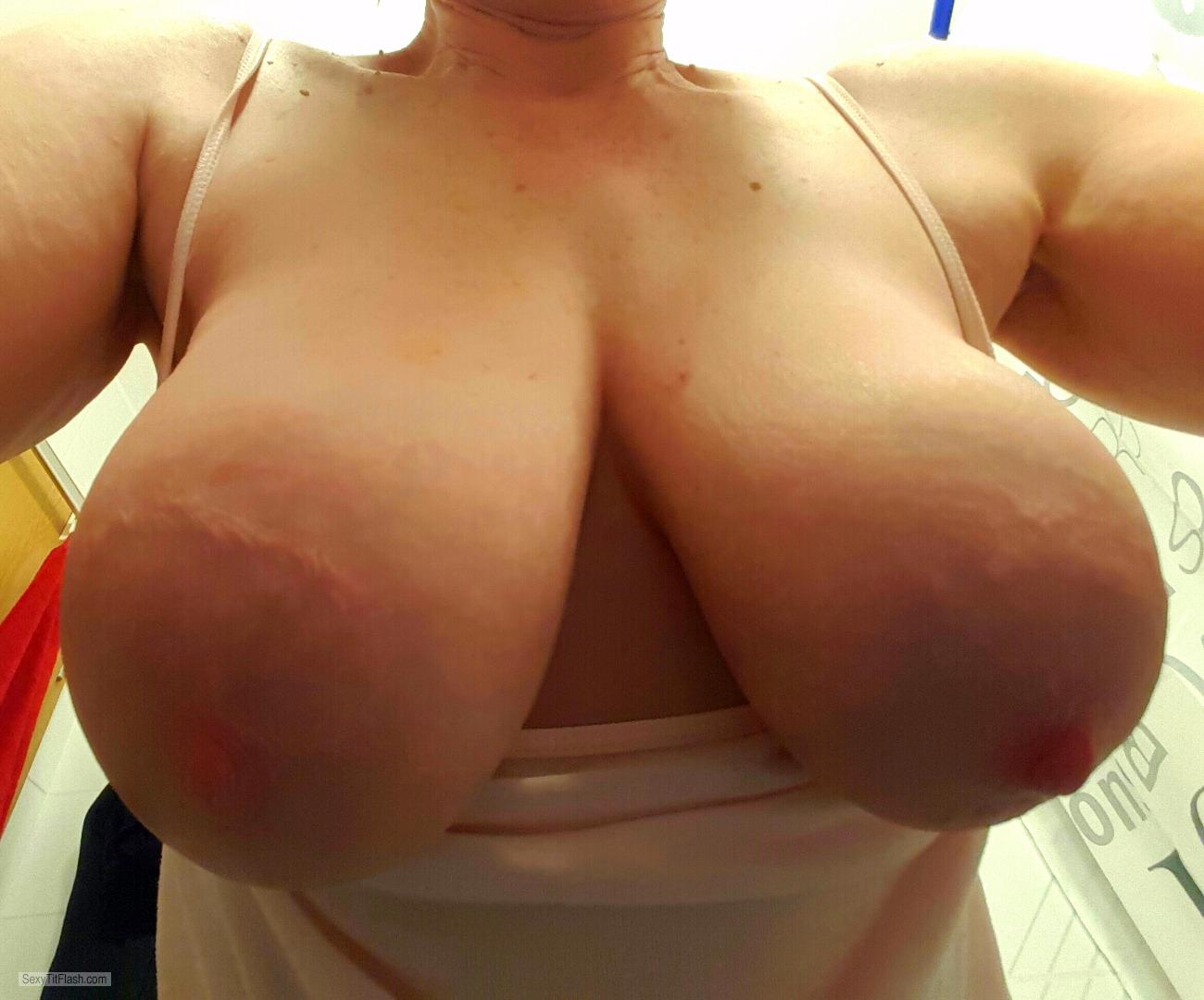 My Very big Tits Selfie by Crazyboobd