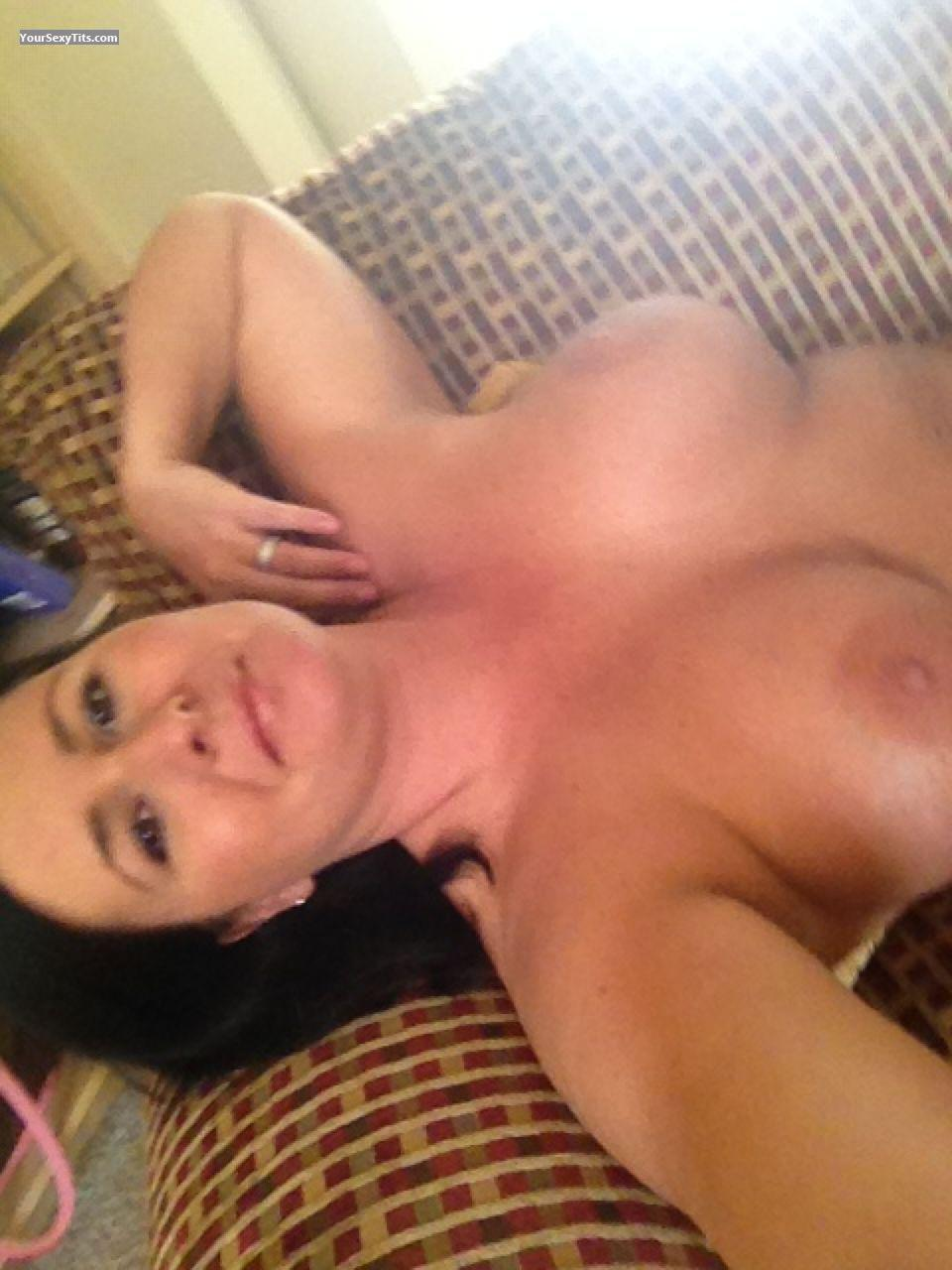 My Very big Tits Topless Selfie by Beck