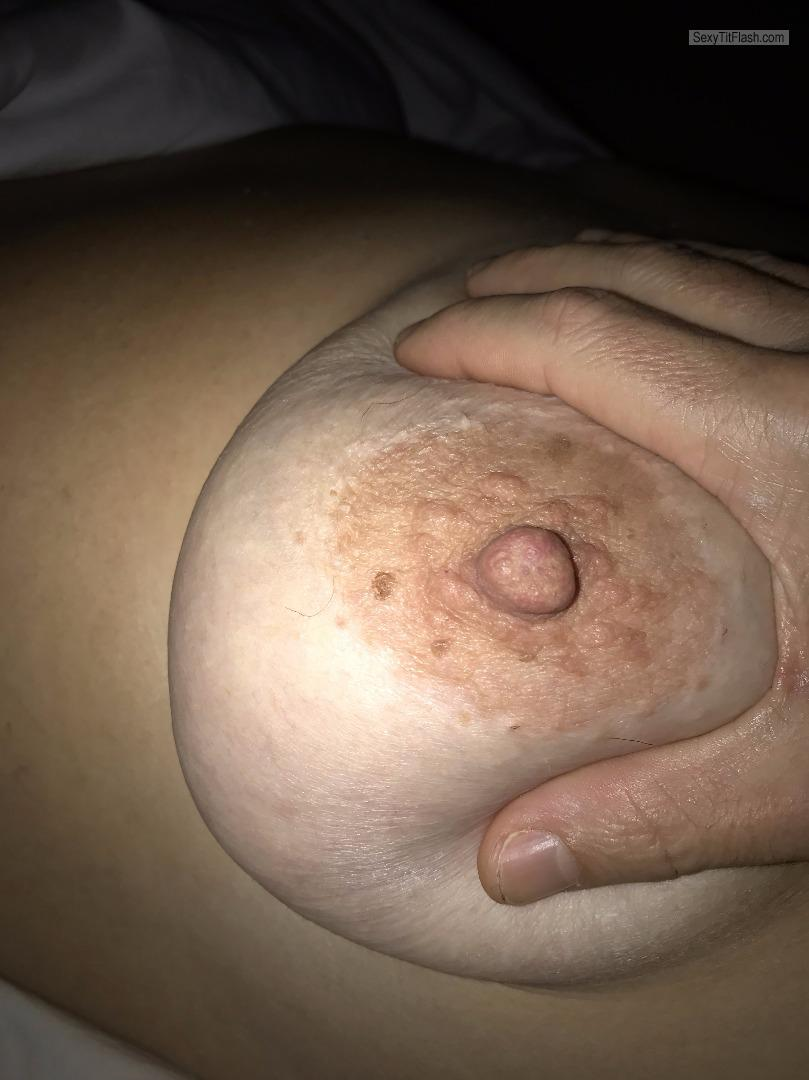 Tit Flash: My Very Big Tits - Angie from United States
