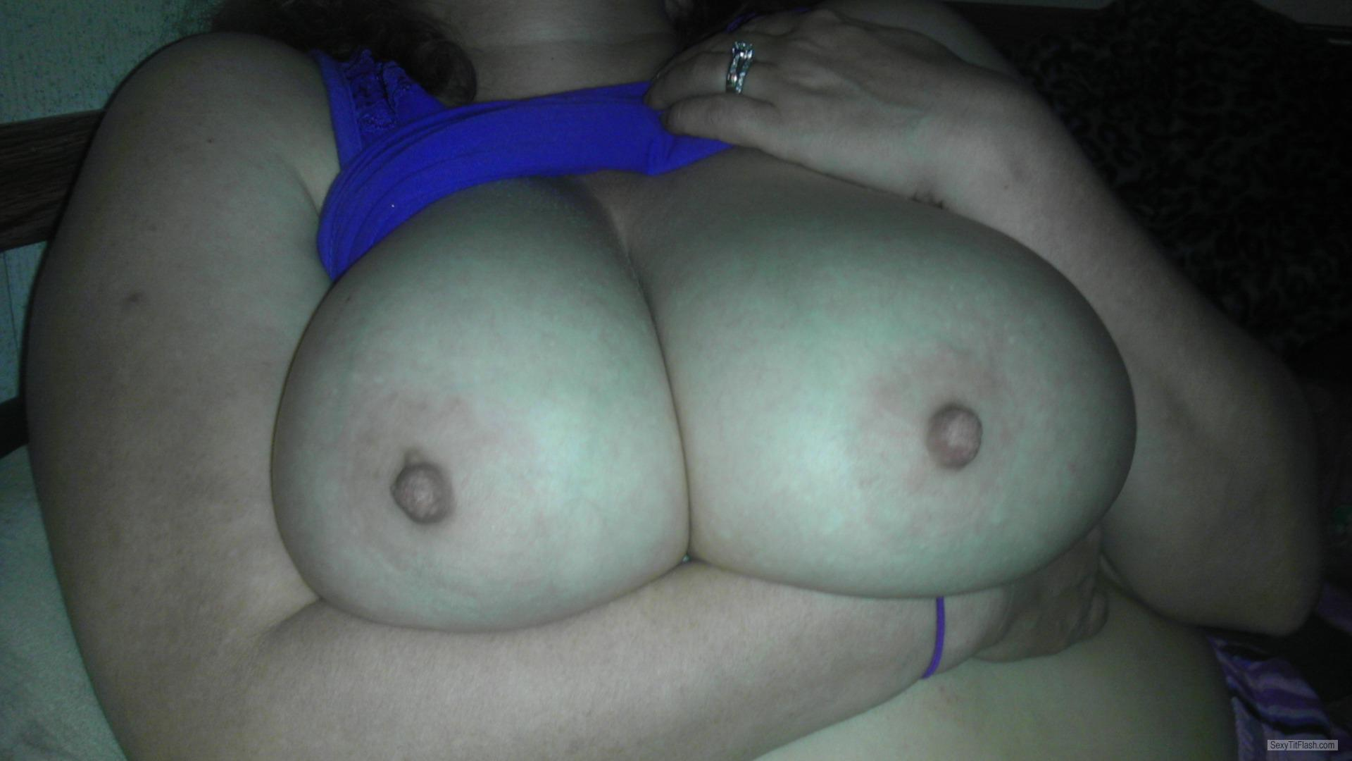 Very big Tits Of My Wife Big Naturals