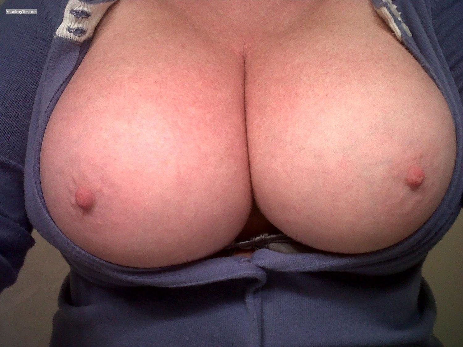Tit Flash: My Very Big Tits (Selfie) - Nirvana from United States