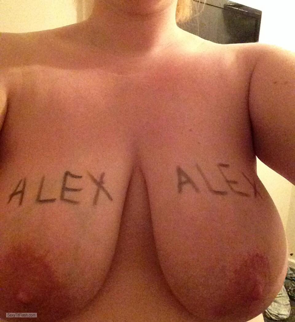 Tit Flash: My Friend's Very Big Tits - My Friends Fiancé With My N from United Kingdom