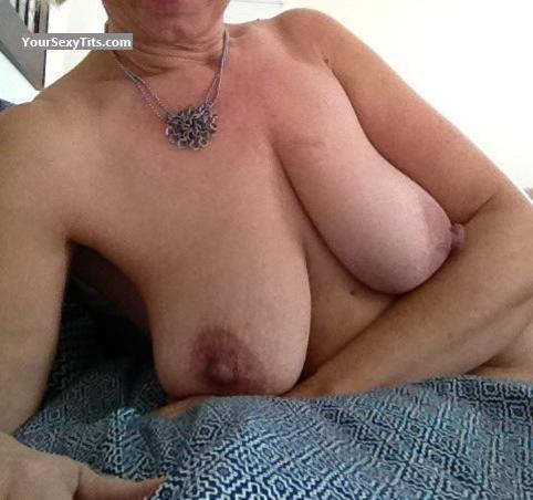Very big Tits Of My Wife Selfie by MILFrack