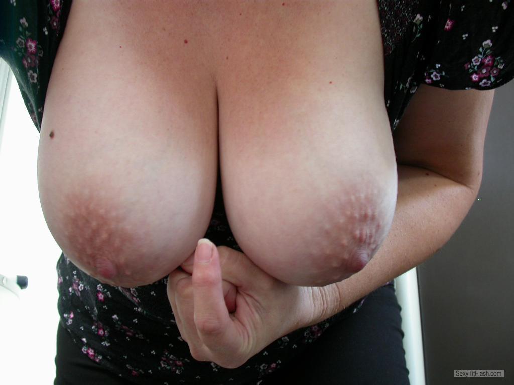 Big Amateur Tits Sucking Dick