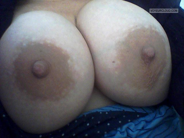 Tit Flash: My Very Big Tits (Selfie) - Titmom from United States