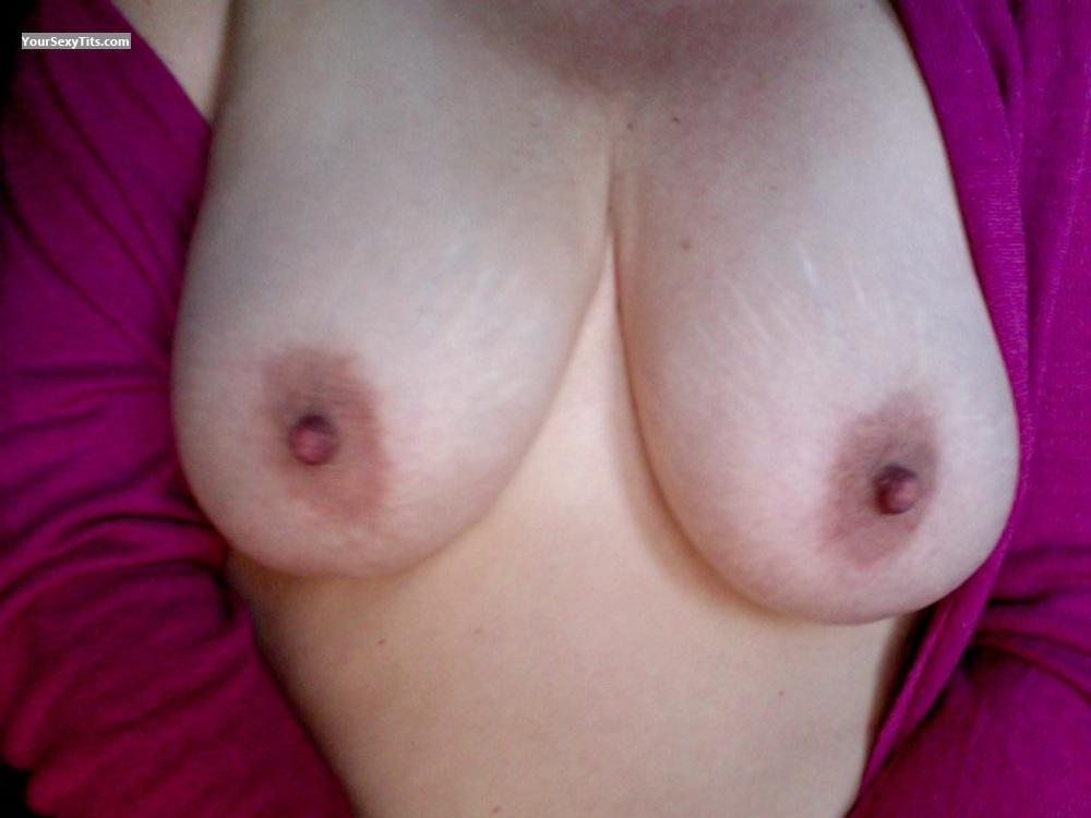 Tit Flash: My Very Big Tits - BT from Anguilla