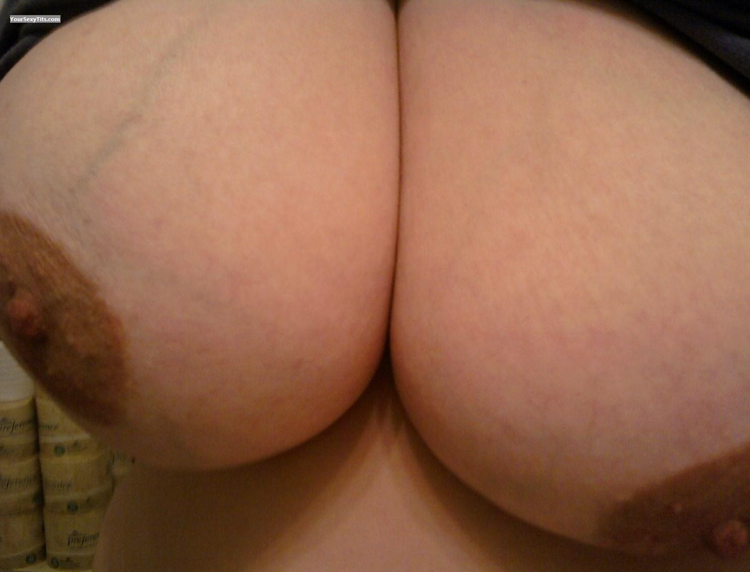 My Very big Tits Selfie by B