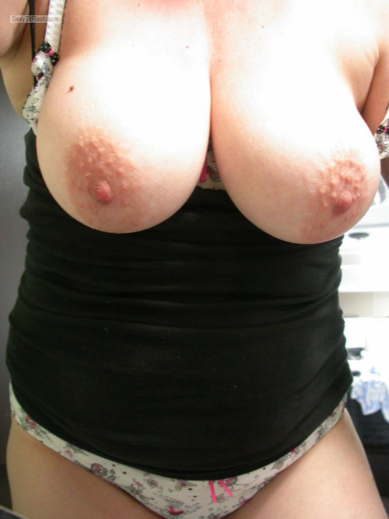 Tit Flash: My Very Big Tits (Selfie) - Curvy-lick-ious from Australia
