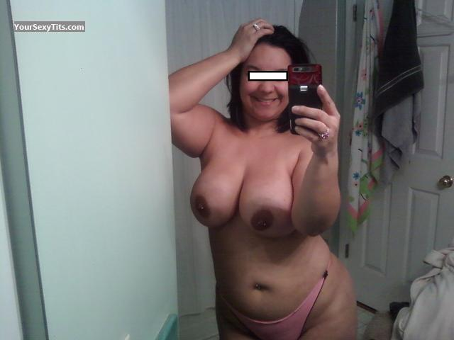Tit Flash: My Very Big Tits (Selfie) - Latinagirl4u from United StatesPierced Nipples