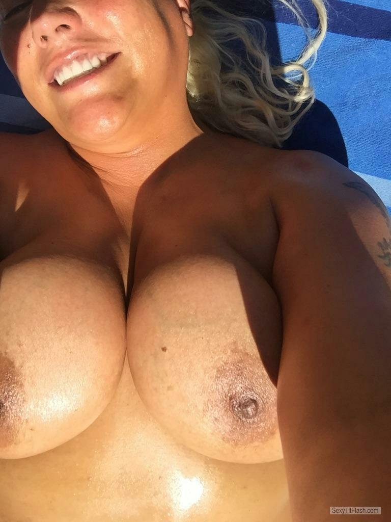My Very big Tits Topless Busty Babe