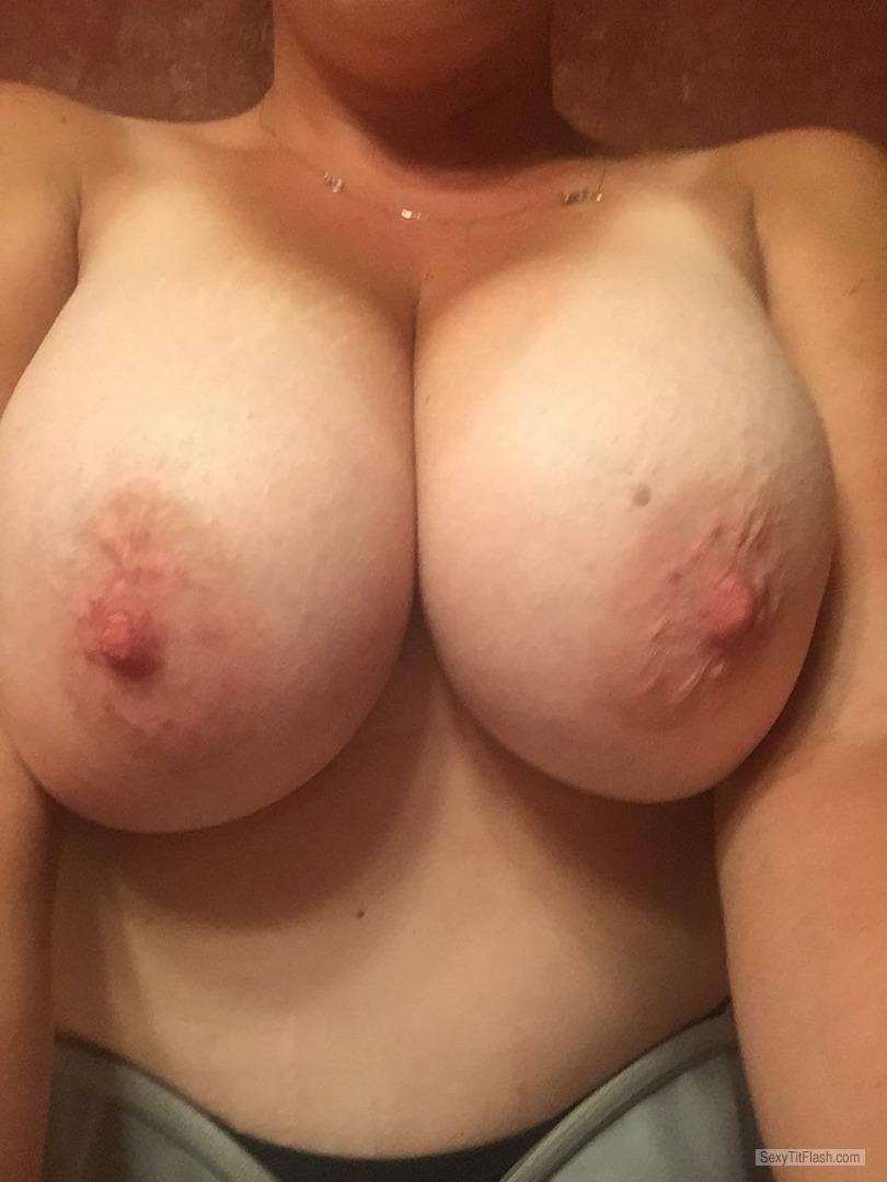 Tit Flash: My Very Big Tits (Selfie) - Tits Mcgee from United States