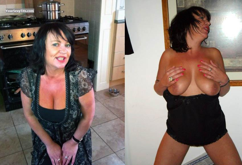 Very big Tits Of A Friend Topless Milf Julie 43 Leeds