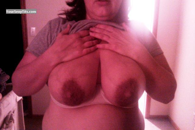 Tit Flash: My Very Big Tits (Selfie) - Jonzer from United States