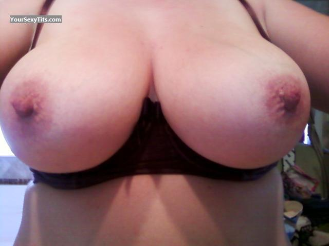 Tit Flash: My Very Big Tits (Selfie) - Pixieannie from United States
