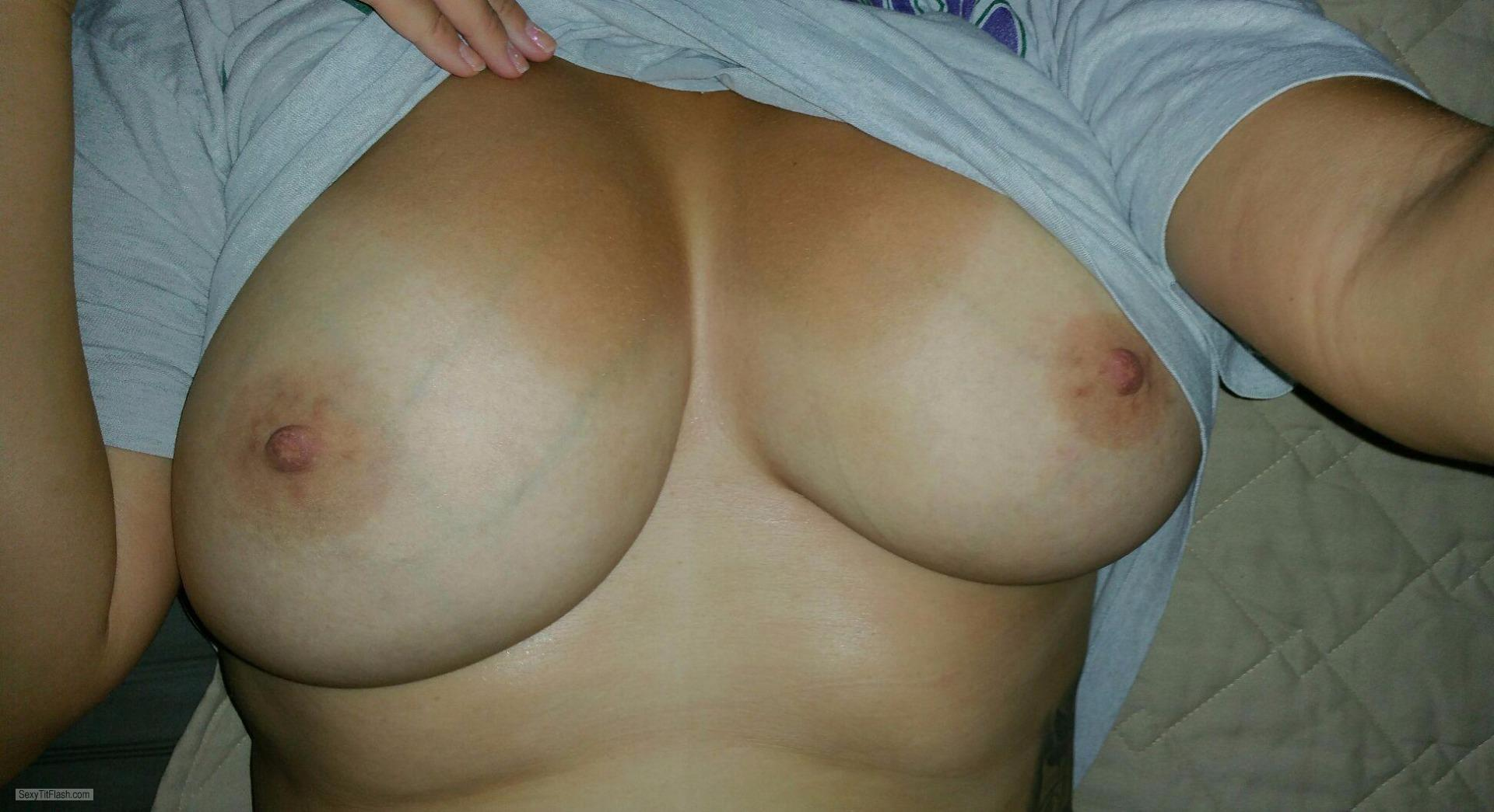My Medium Tits Selfie by 38DDD