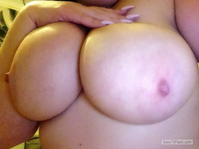 Tit Flash: My Very Big Tits - Kissmynipples from United Kingdom