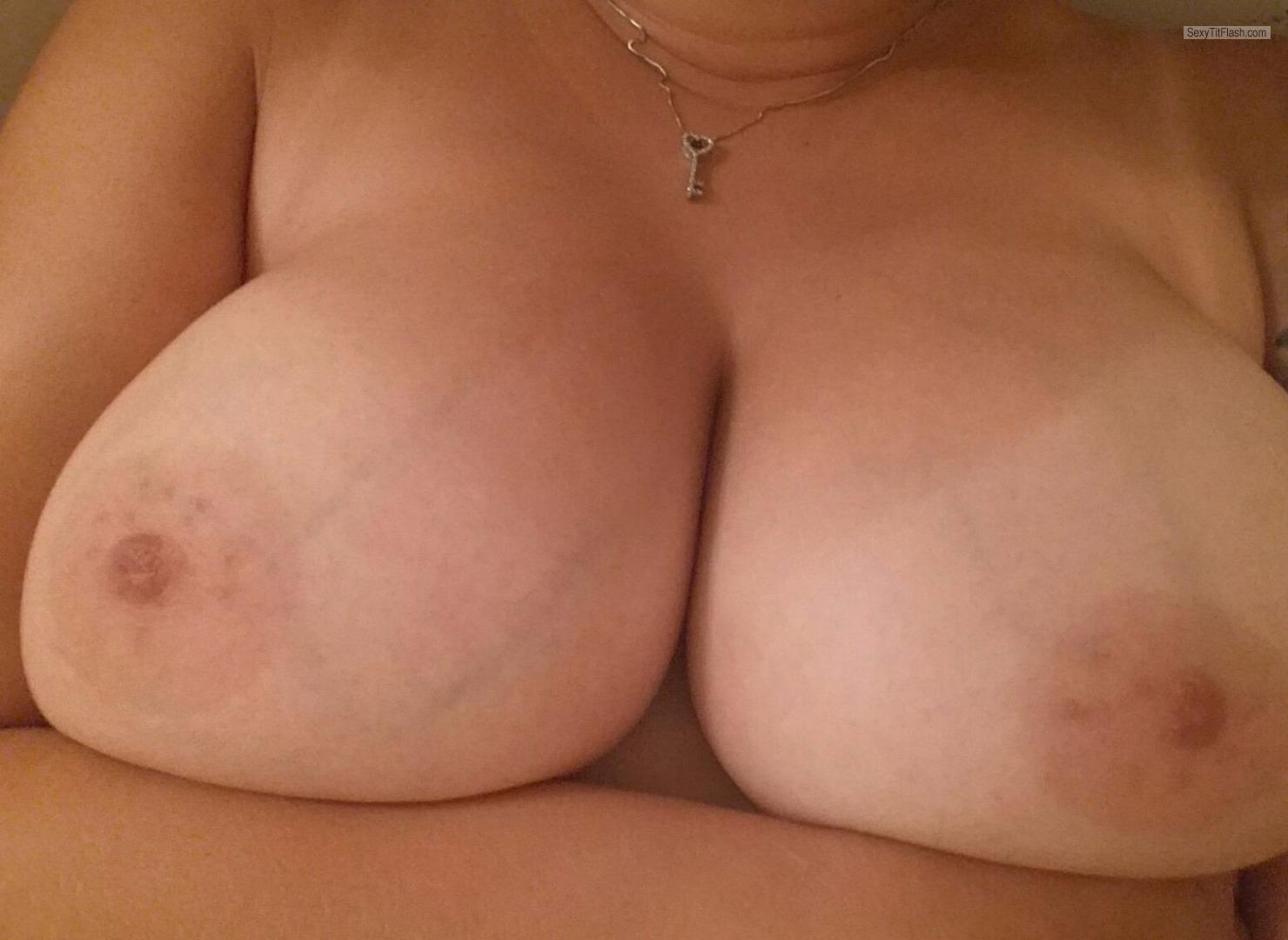 My Very big Tits Selfie by 38ddd