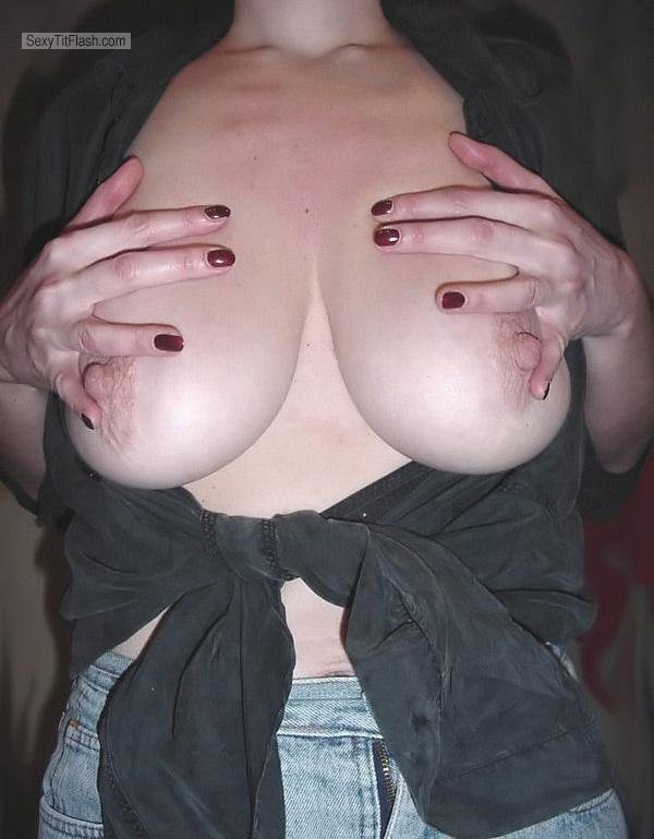 Tit Flash: My Very Big Tits - Provocative from United States