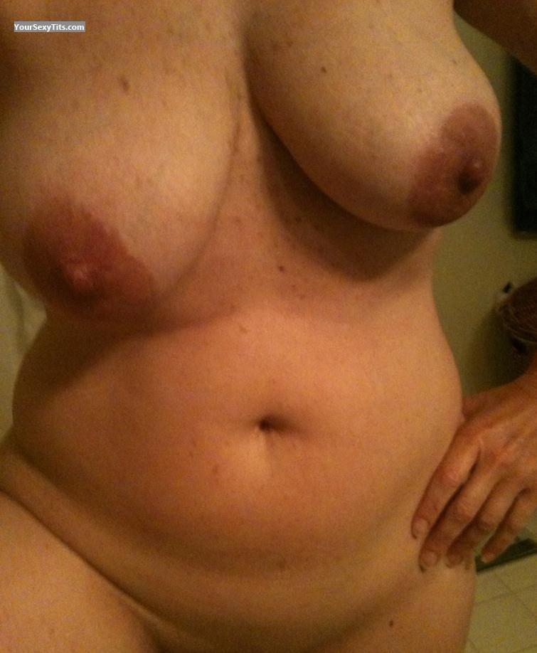 Tit Flash: My Very Big Tits (Selfie) - BeachGuru from United States