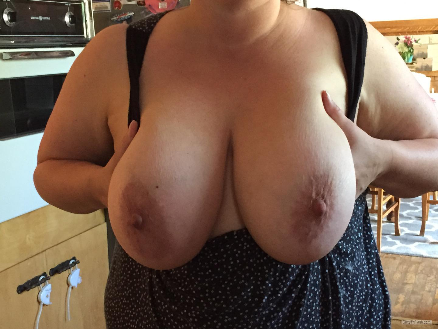 Very big Tits Of My Wife Big Tities