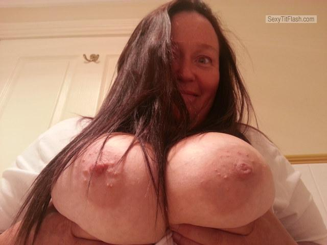 Very big Tits Of My Wife Topless Maryanne