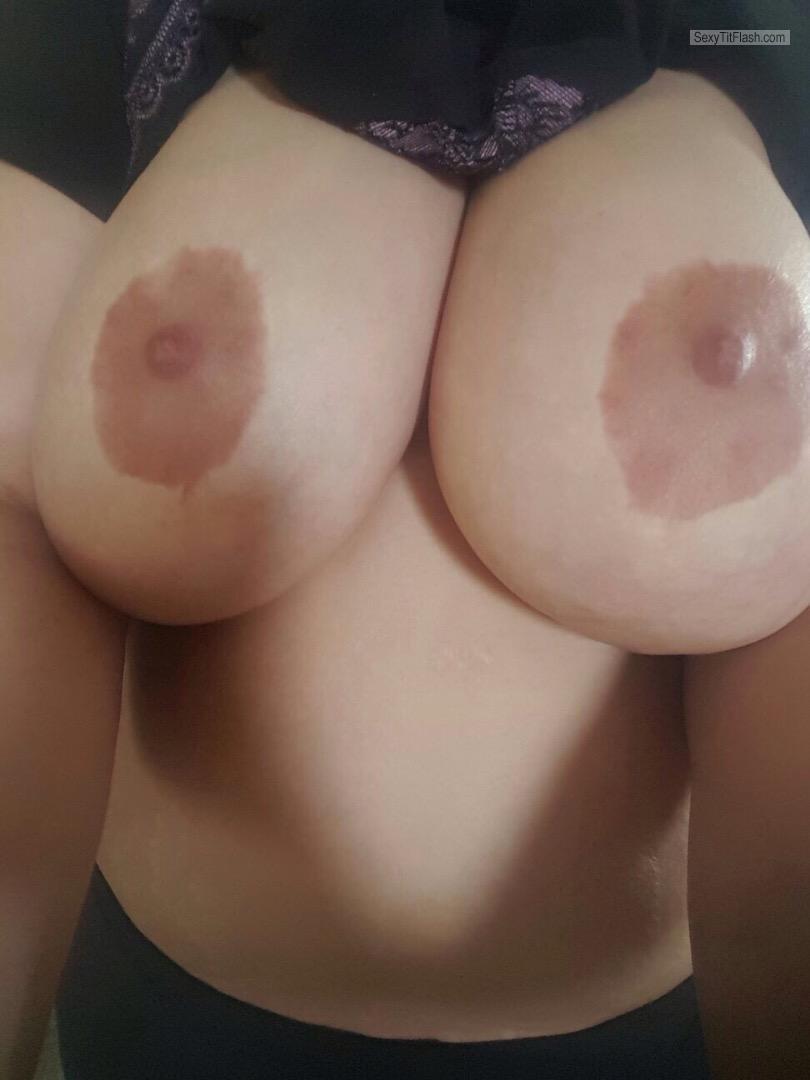 Wife S Very Big Tits Selfie U K Wifey From United Kingdom Tit