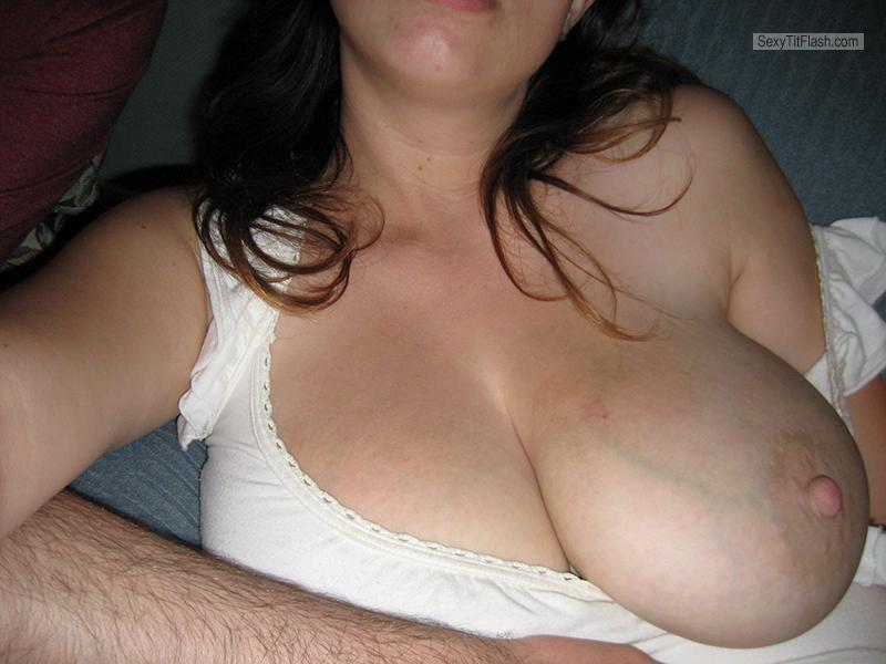 Tit Flash: My Very Big Tits - Happyhubby98 from United States