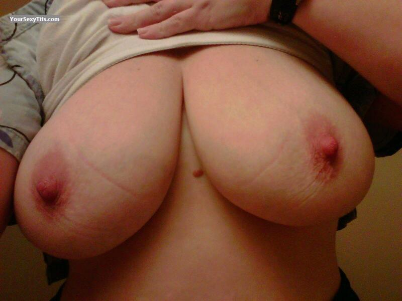 Tit Flash: My Very Big Tits (Selfie) - Jugger from Canada