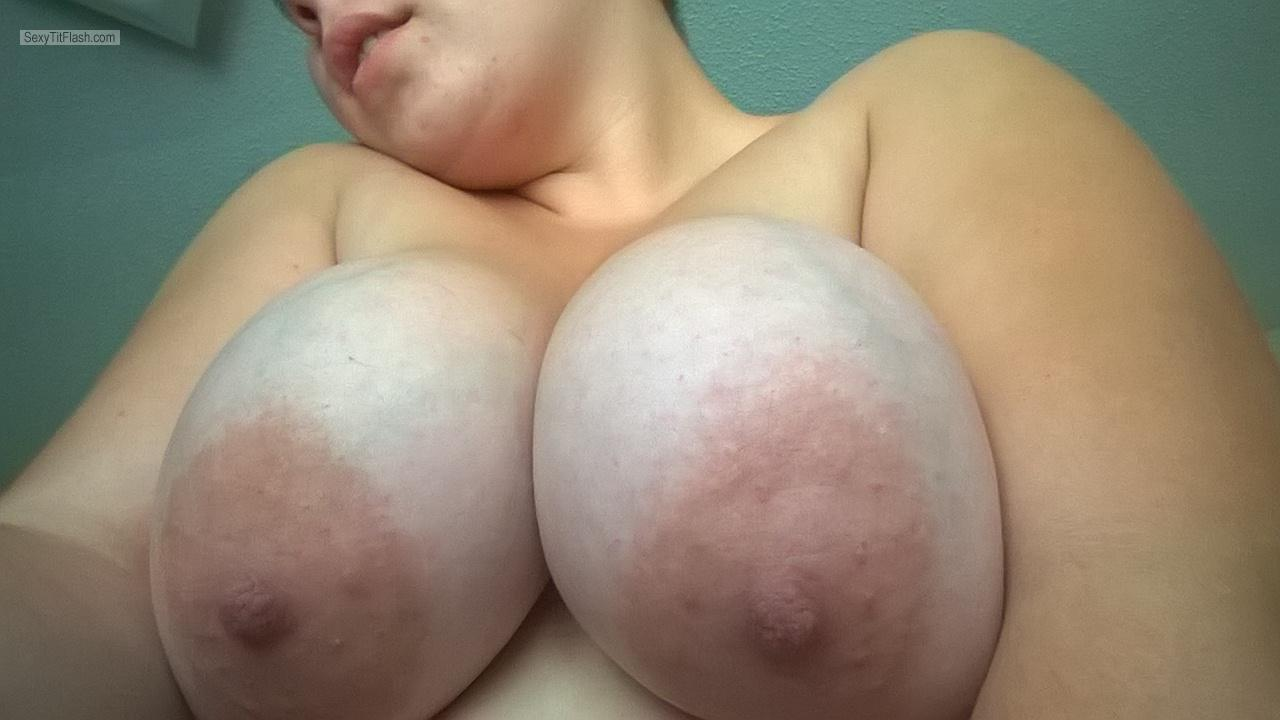 Tit Flash: My Very Big Tits (Selfie) - MissKc from United Kingdom