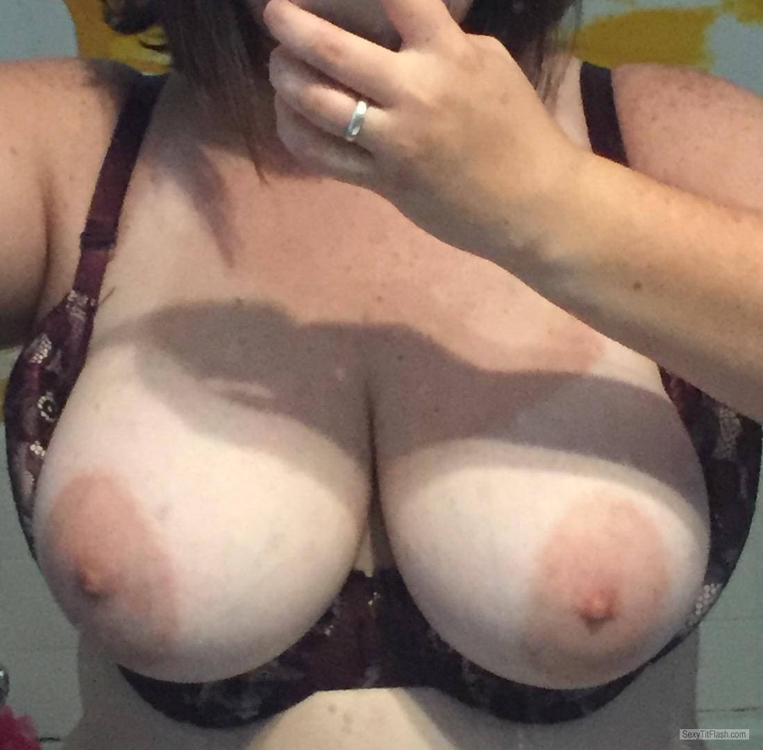 My Very big Tits Selfie by Cleavage Queen